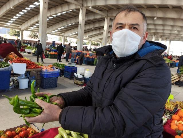 Afyonkarahisar'da pazarın zam şampiyonu 'biber' oldu