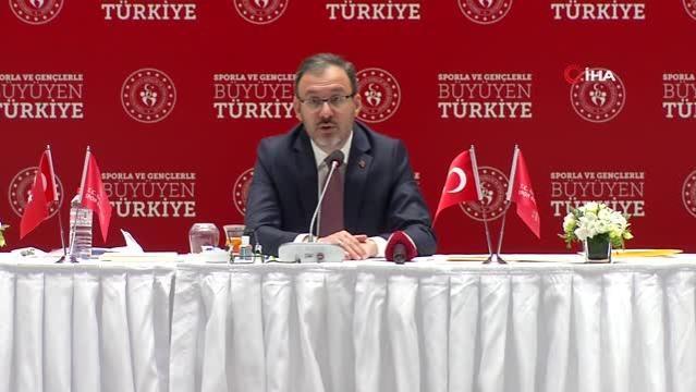 Bakan Kasapoğlu: Kulüplerin finansal durumundan yöneticiler sorumlu olacak -3-