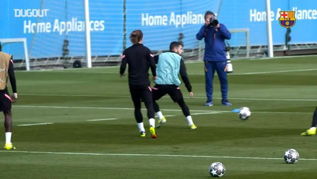 Barcelona PSG Maçı Hazırlıklarını Tamamladı