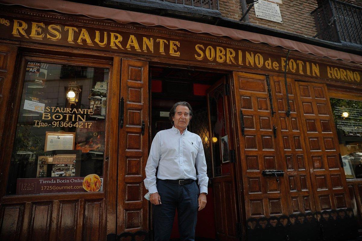 Dünyanın en eski restoranı Botin, salgına direniyor #2