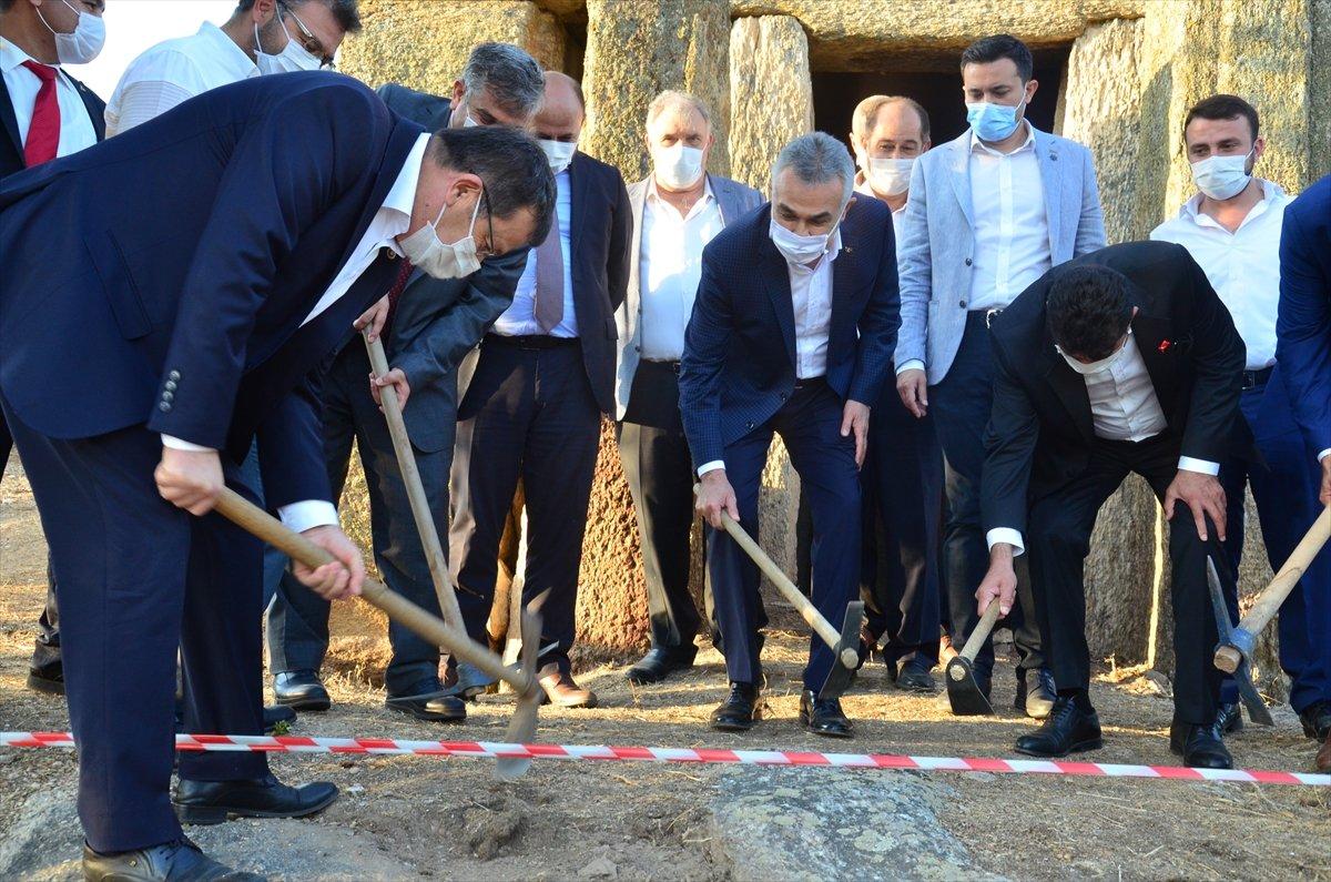 Gerga Antik Kenti nde kazı çalışmaları başladı #3