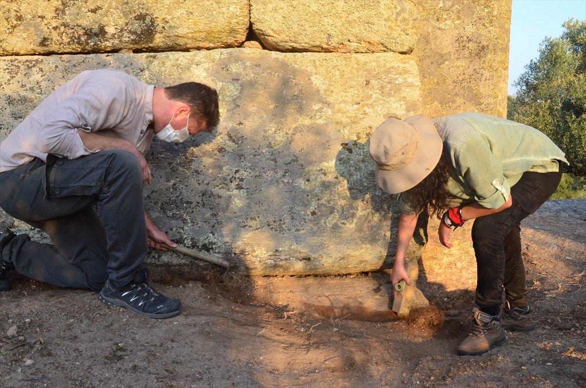 Gerga Antik Kenti nde kazı çalışmaları başladı #7