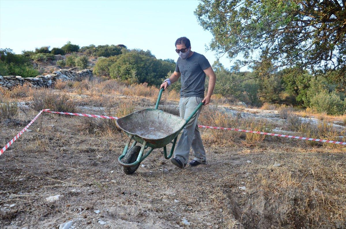 Gerga Antik Kenti nde kazı çalışmaları başladı #8