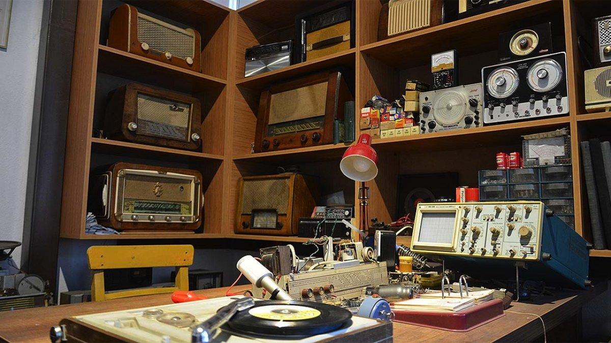 Malatya da radyo ve gramofonun tarihi müzede toplandı #3