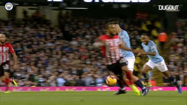 Raheem Sterling'in Manchester City Formasıyla Attığı 50. Gol