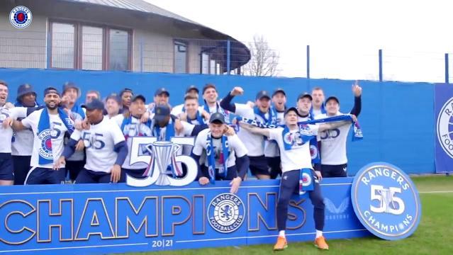Rangers'ın Şampiyonluk Kutlamaları