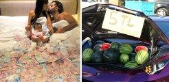 Beyoğlu'nda lüks araçta karpuz satan İranlı fenomen sınır dışı edildi