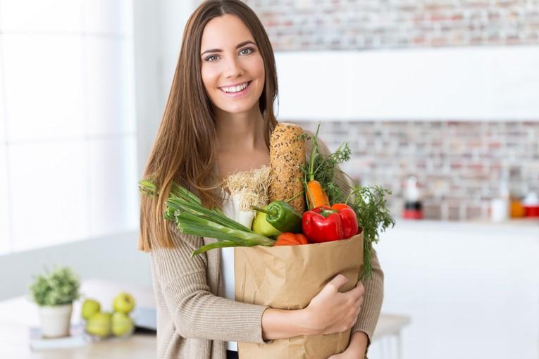 Sebzelerle kilo vermek daha kolaydır.